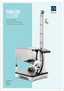 Brochure for automatic lifting, dedusting and polishing of tablets, capsules and softgels