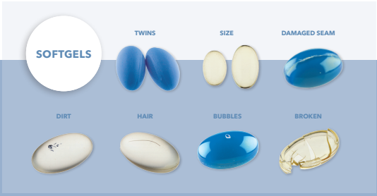 Tablet Capsule Softgel Inspection And Sorting Machine