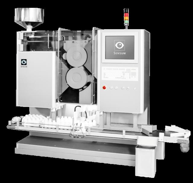 Spine FIBO visual inspection machine